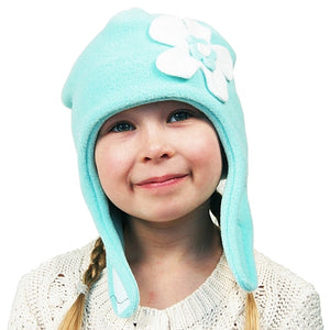 Puffin Gear Polartec Classic 200 Fleece Mod Flower Child Hat-Made in Canada