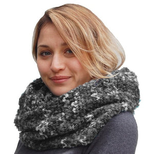 Puffin Gear Icicle Boucle Infinity Scarf - Made in Canada