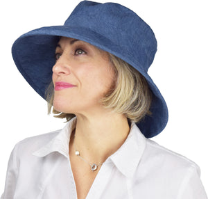 Puffin Gear Linen Canvas Sun Protection Garden Hat-UPF50-Made in Canada