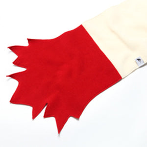 Puffin Gear Polartec Classic 200 Fleece Maple Leaf Scarf Made in Canada