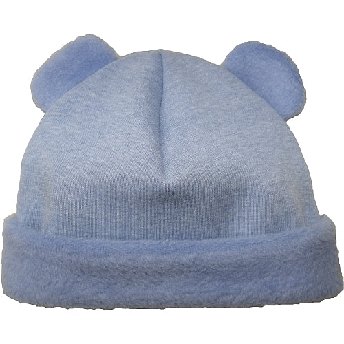 Puffin Gear Jersey Cuddle Infant Bear Beanie-Denim-Made in Canada