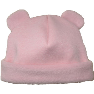 Puffin Gear Jersey Cuddle Infant Bear Beanie-Pink-Made in Canada