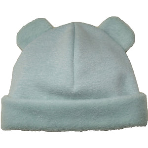 Puffin Gear Jersey Cuddle Infant Bear Beanie-Sage-Made in Canada