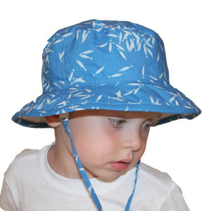 Puffin Gear Organic Camp Sun Protection Hat - Charlie Harper Minnows-Made in Canada