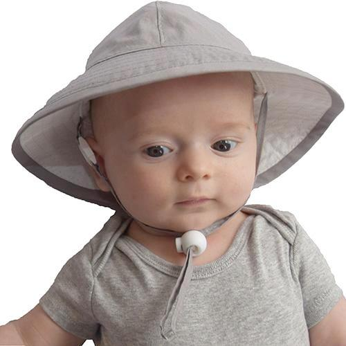 Puffin Gear Sun Protection Infant Organic Cotton Sunbeam Hat-UPF50+ Made in Canada