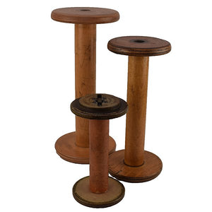 Puffin Gear Antique Knittin Mill Bobbin Hat Stands