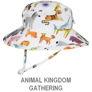 Puffin Gear Child Wide Brim Sun Protection Hat-Made in Canada-Animal Kingdom-Gathering