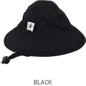 Puffin Gear Organic Cotton Infant Sun Protection Sunbeam Hat-Black
