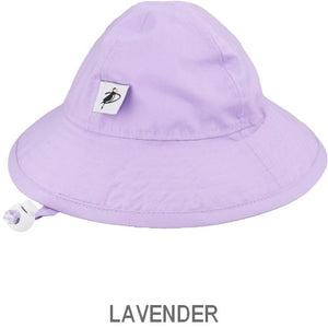 Puffin Gear Organic Cotton Infant Sun Protection Sunbeam Hat-Lavender