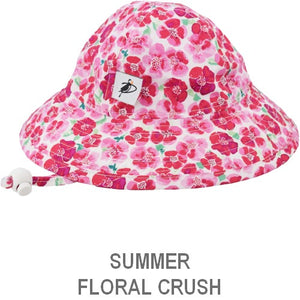 Puffin Gear Infant Sun Protection Sunbeam Hat-Liberty of London-Summer-Flower Crush