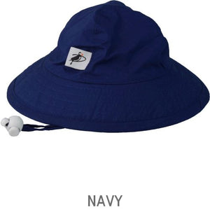 Puffin Gear Organic Cotton Infant Sun Protection Sunbeam Hat-Navy