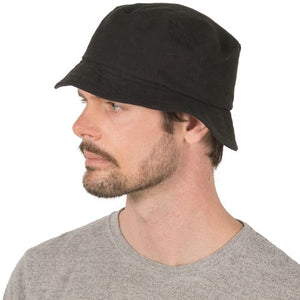 Puffin Gear Patio Linen Bucket Hat - UPF50 Sun Protection - Made in Canada