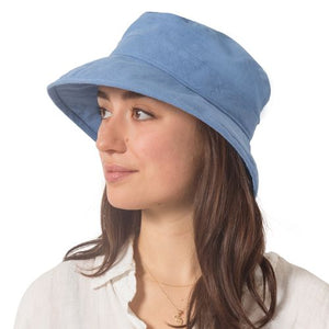 Puffin Gear Patio Linen UPF50+ Sun Protection Bowler Hat-Made in Canada