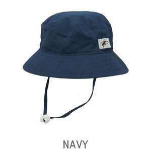 UPF 50+ Sun Protection-Puffin Gear Child Solar Camp Hat-Made in Canada-Navy