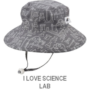 Puffin Gear Child Wide Brim Sun Protection Hat-Made in Canada-I Love Science-Lab