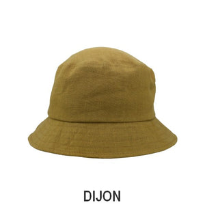Patio Linen UPF50+ Sun Protection Bucket Hat-Patio Linen-Made in Canada-Dijon