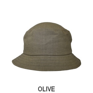 Patio Linen UPF50+ Sun Protection Bucket Hat-Patio Linen-Made in Canada-Olive