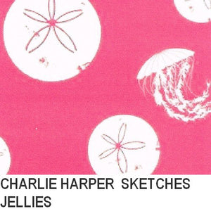 Puffin Gear Organic Cotton-Charlie Harper Sketches-Jellies