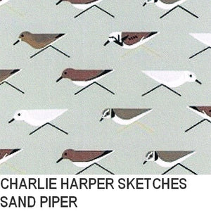Puffin Gear Organic Cotton-Charlie Harper Sketches-Sand Piper