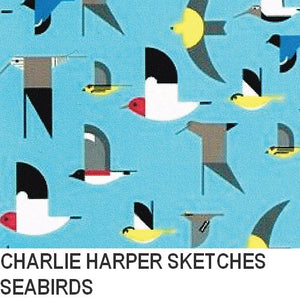 Puffin Gear Organic Cotton-Charlie Harper Sketches-Seabirds