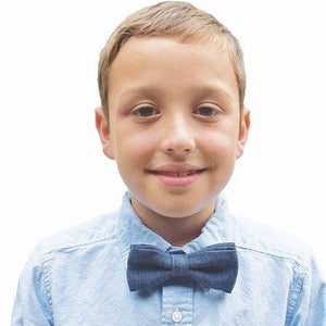 Puffin Gear Linen Child Bow Tie-Made in Canada