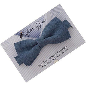 Puffin Gear Linen Child Bow Tie Display Card-Made in Canada