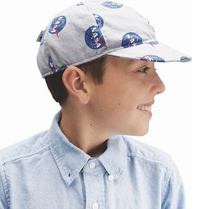 Child Sun Protection Ball Cap - Cotton Prints