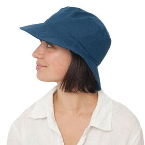 Puffin Gear Clothesline Linen Crusher Hat-UPF50 Sun Protection-Made in Canada