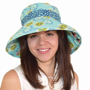 Puffin Gear Coral Reef Vintage Diver Classic Hat-Tokoyo Milk-UPF50+ Sun Protection-Made in Canada