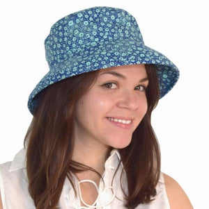 Puffin Gear Coral Reef Slouch Hat-UPF50+ Sun Protection Hat-Tokoyo Milk-Made in Canada