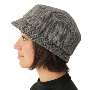 Puffin Gear Harris Tweed Ladies Stroll Pillbox Hat - Made In Canada