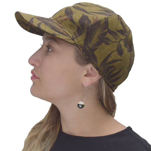 Puffin Gear Harvest Barkcloth Cap-Copper-Made in Canada