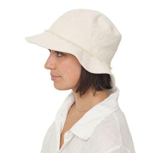 Puffin Gear Hemp Fringed Crusher Sun Protection Hat-UPF50-Made in Canada