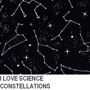 Puffin Gear Cotton Print-I Love Science-Constellations