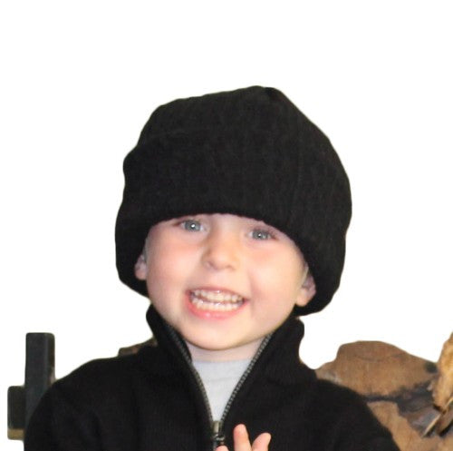 Puffin Gear Irish Knit Kids Beanie - Made in Canada