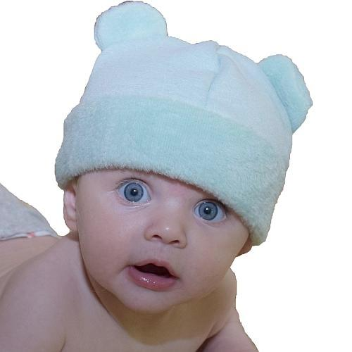 Puffin Gear Jersey Cuddle Infant Bear Beanie - Made in Canada