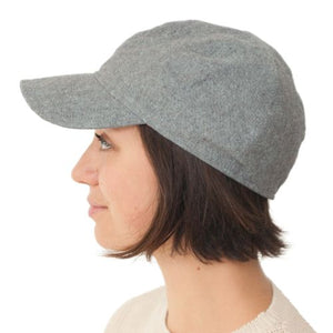 Puffin Gear Linen Tweed Ball Cap-Made in Canada