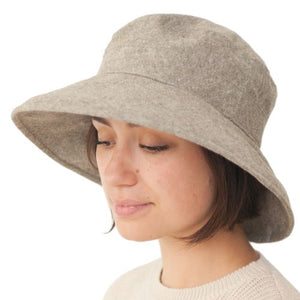 Puffin Gear Linen Tweed Garden Hat - Made in Canada