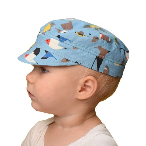 UPF 50+ Sun Protection-Puffin Gear Organic Cotton Child Cap-Made in Canada