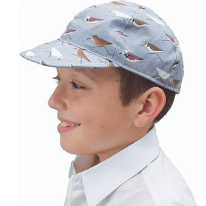 Puffin Gear Organic Cotton Sun Protection Ball Cap-Made in Canada-UPF50+