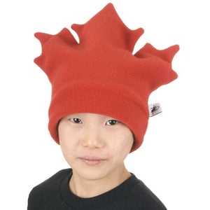 Polartec Classic 200 Series Fleece Maple Leaf Toque-Made in Canada