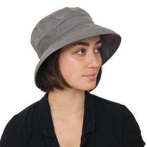 Puffin Gear Summer Breeze Linen Bowler Hat-UPF50 Sun Protection-Made in Canada