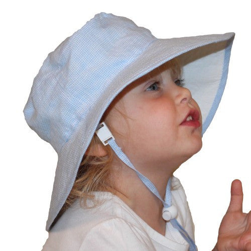 Puffin Gear Summer Day Linen Child Sun Protection Hat - Made in Canada