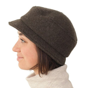 Puffin Gear Tilburg Boiled Wool Stroll Pillbox Hat - Made in Canada