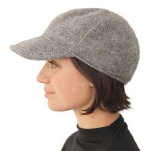 Puffin Gear Tilburg Boiled Wool Ball Cap - Made in Canada