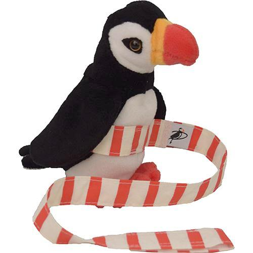 Puffin Gear Organic Cotton Print Toy Strap - Made in Canada