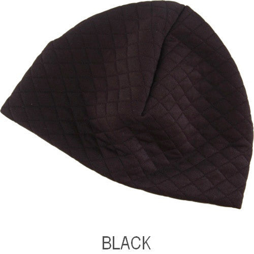 Puffin Gear Alpine Quilt Skullcap-Black-Made in Canada