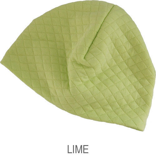 Puffin Gear Alpine Quilt Skullcap-Lime-Made in Canada
