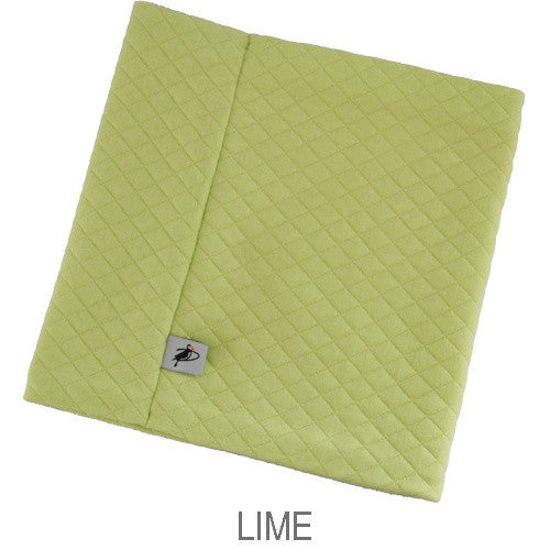 Puffin Gear Alpine Quilt Child Neck Warmer-Lime-Made in Canada