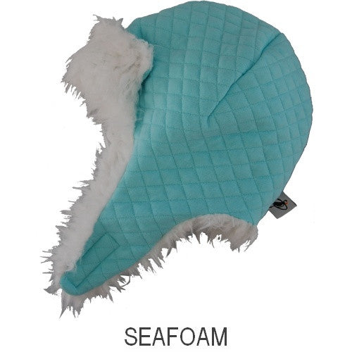 Puffin Gear Alpine Quilt Snow Helmet-Seafoam-Made in Canada